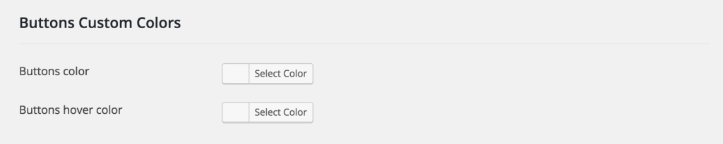 Social Share Buttons Custom Colors