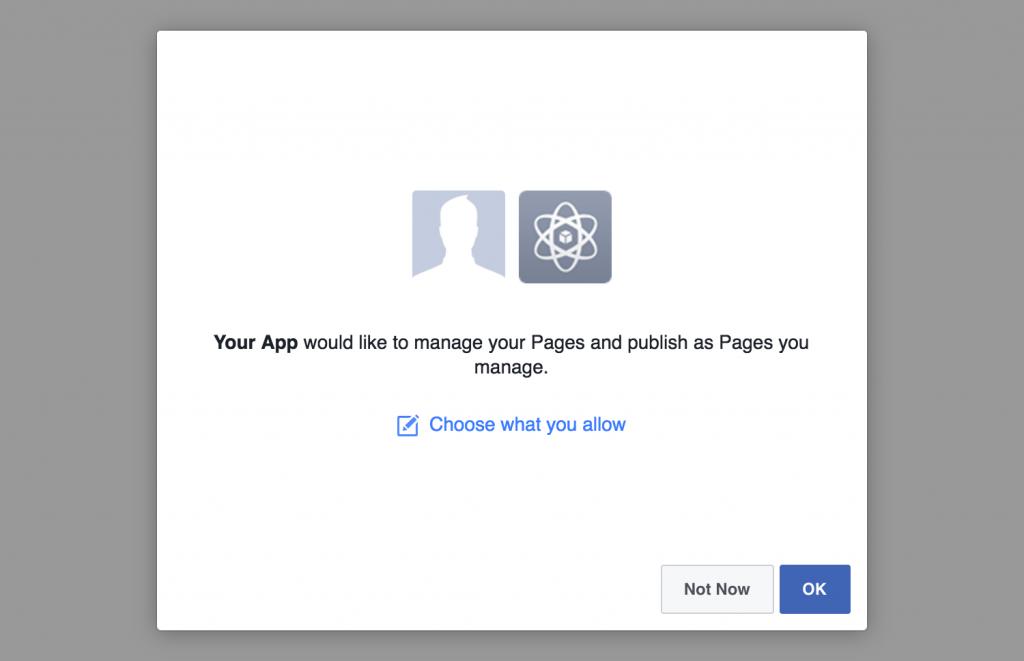 Connect a Facebook Account | DevPups Docs